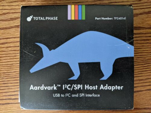 New In Box Total Phase Aardvark I2C SPI GPIO Host Adapter