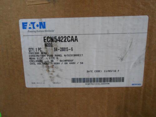 EATON ECN5422CAA 3r outdoor Pump Control  460/440 V Coil an16gno size 2