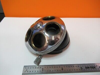 Zeiss Quintuple Nosepiece Microscope Part As Pictured A2-a-09