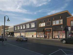 St. Catharines Retail Space | Planned Facade Renewal