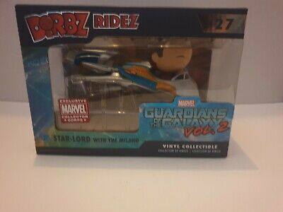 Star Lord & Milano Funko Dorbz Guardians Of The Galaxy 2 Marvel Collector Corps