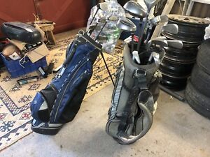 2 Almost Complete sets of golf clubs