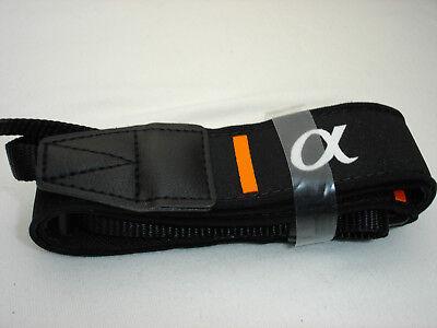SONY ALPHA camera strap, Pictured Black model  MINT
