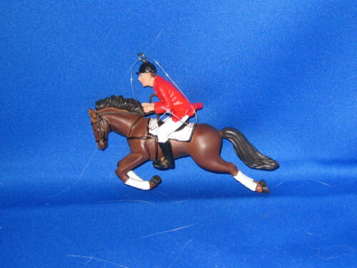 Christmas Horse Ornament HUNTER JUMPER       FREE SHIPPING