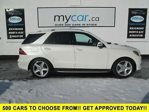 2014 Mercedes-Benz M-Class LEATHER, SUNROOF, NAV,
