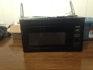Over the range Panasonic Genius microwave