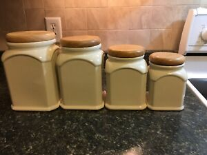 Winsome Four Piece Canister Set