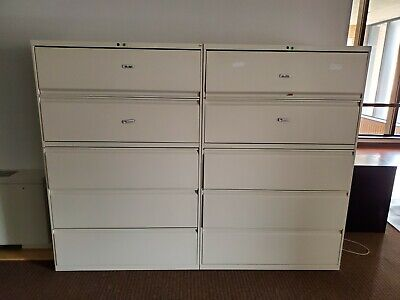 Lateral Filing Cabinets Five Drawers