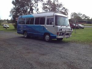 Toyota coaster campervan Bonogin Gold Coast South Preview