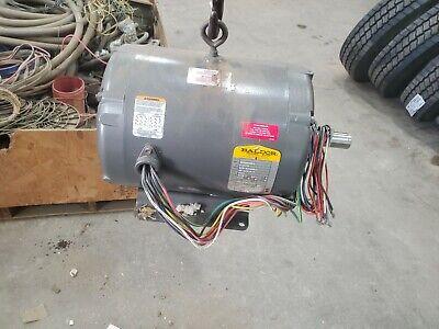 New Baldor Farm Duty Electric Motor 7.5-10 Hp Air Over 3450rpm 3ph 215z