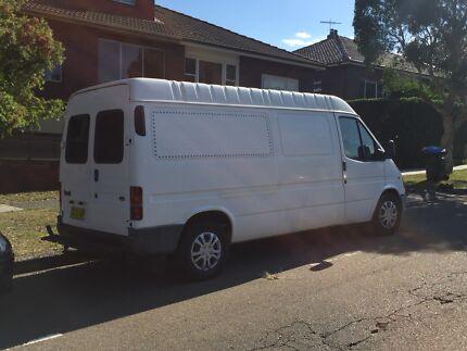 3 front seats 1998 LWB Ford Transit Campervan