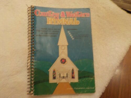 SINGSPIRATION SONG BOOK COUNTRY & WESTERN HYMNAL BY FRED BOCK