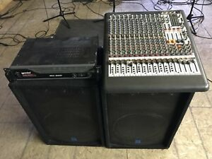 PA System. Parting out. Make an offer.
