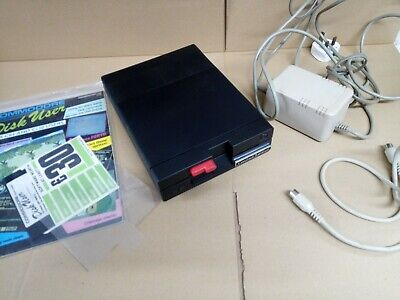 Black Commodore 1541 - II Floppy Disk Drive > Drive, PSU & Cable - TESTED  C64