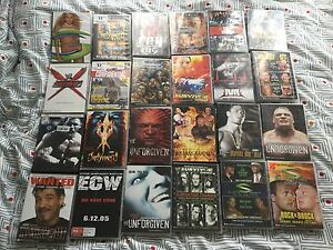 32 WWE Wrestling DVDs Alexander Heights Wanneroo Area Preview