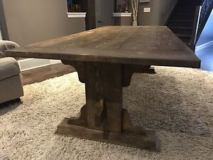 8' Rustic 17th Century French Monastery Style Dining Table