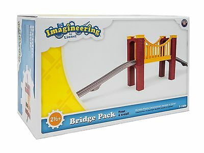 LIONEL Imagineering Little Lines Train BRIDGE PACK NEW Add On REPLACE 7-11626