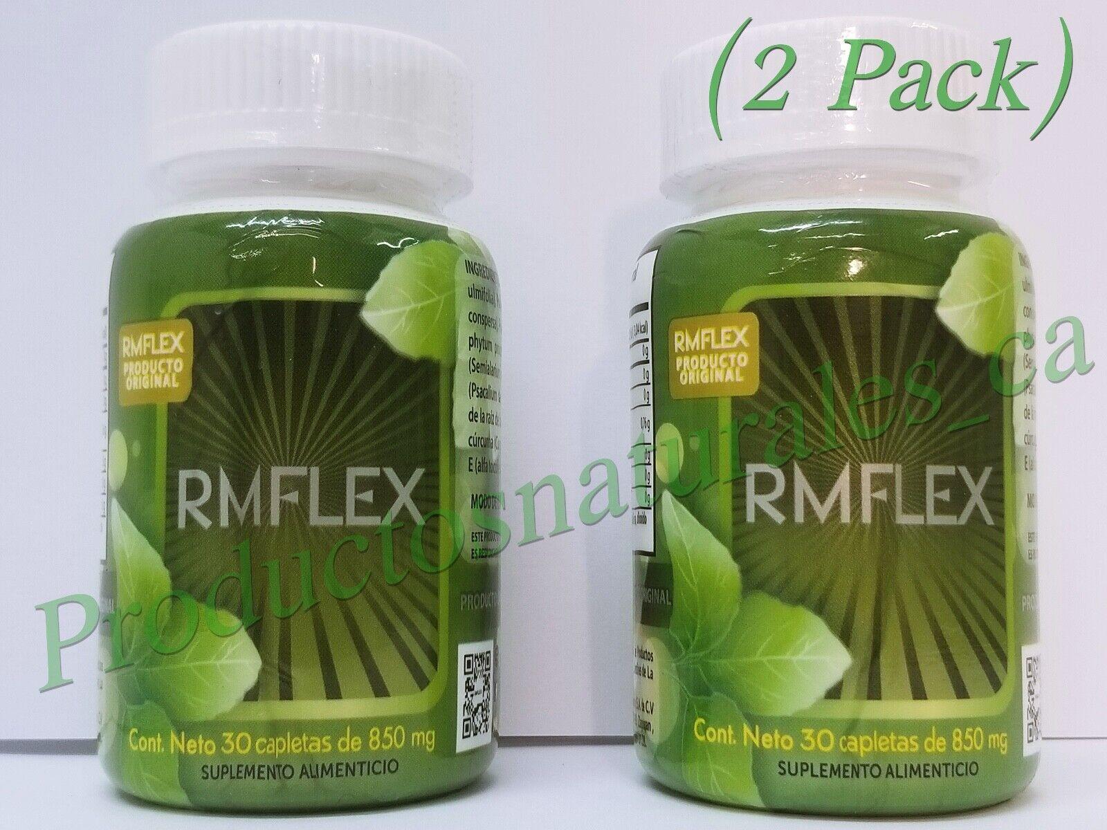 RMFLEX (2Pack) 30 Capletas de 850mg Producto Original 100% para Artritis,Dolores