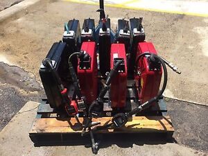 Oil and air workshop hose reel with digital guns qty 9 Lane Cove West Lane Cove Area Preview
