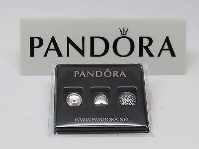 Pandora April Rock Crystal Petite Mini Charms 792091RC 4 LOCKET BUY MORE SAVE $$ - Mini Petite Rock