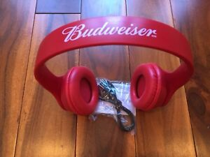Brand new Budweiser Bluetooth Over Ear Wireless Headphones