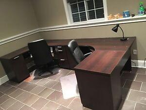 2 Office Desks (L Shaped)