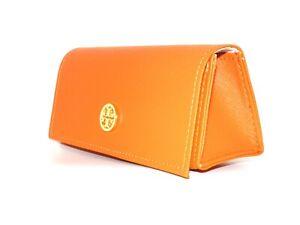 642589695bae Tory Burch Large Orange Sunglasses Eyeglasses magnetic button Sunglass case