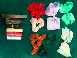 Bow/ Scrunchie & Lipstick Bundle *PRICE IS FOR EVERYTHING*
