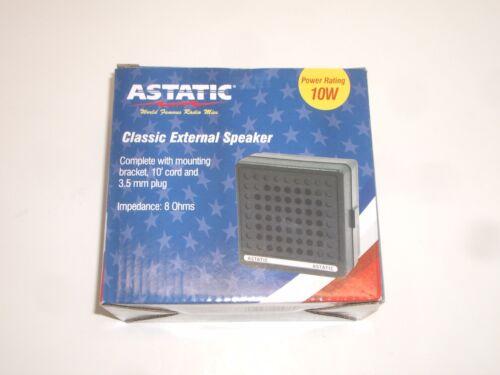 ASTATIC VS2 PRESIDENT CB HAM RADIO SCANNER EXTERNAL COMMUNICATIONS SPEAKER 10W