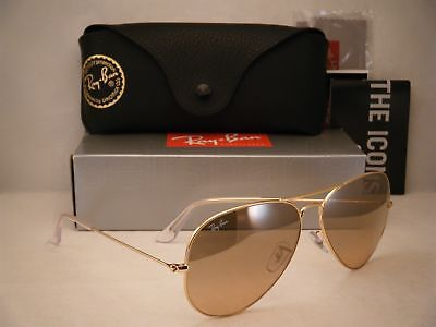 Ray Ban 3025 Aviator Gold w Pink Crystal Lens (RB3025 001/3E 62mm (Ray Ban Aviator Size 62mm)