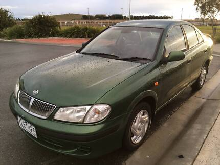 2001 Nissan Pulsar with Rego and RWC