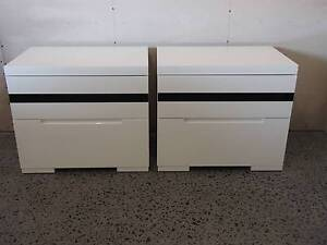 2x Contemporary bedside tables Benowa Gold Coast City Preview