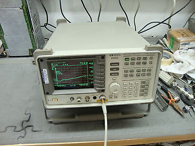 Hp Agilent 8592l Spectrum Analyzer W Various Options Opt 26 Avail. 9khz-26.5ghz