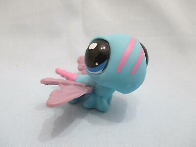 Littlest Pet Shop Dragonfly 1725 Purple Blue Eyes Authentic Lps