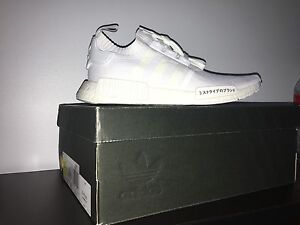 Size 10 triple white Japan pk nmd **240**