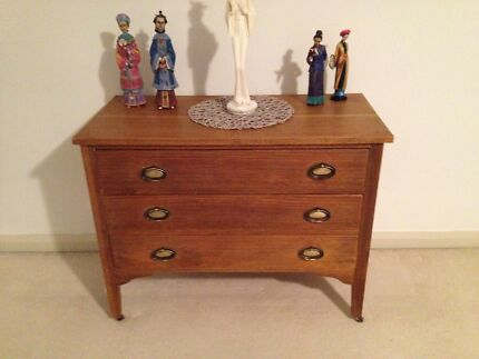 Oak chest of drawers Wollstonecraft North Sydney Area Preview