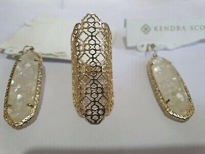 Kendra Scott Earrings Set/ring