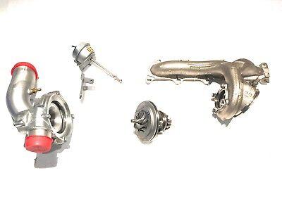 Opel Astra G H Zafira A B Z20LEH Turbolader original zerlegt neu Tuning Krümmer gebraucht kaufen  Köthen