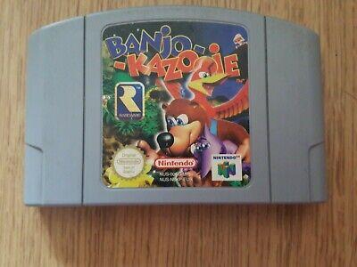 Nintendo 64 Game - Banjo Kazooie - N64 Pal - Cart Only