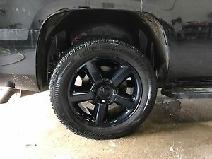 "2011 Chevrolet Tahoe 20"" wheels and tires"