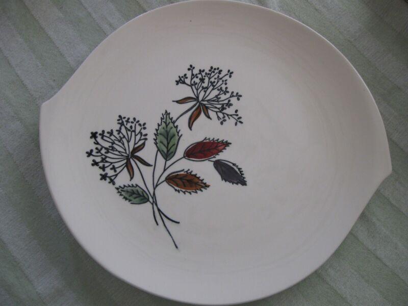 "BLUE RIDGE Southern Potteries 12 1/2"" Platter-Hand-Painted"