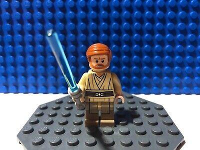 STAR WARS LEGO MINIFIGURE OBI WAN KENOBI 75040 SET GENERAL GRIEVOUS WHEEL BIKE
