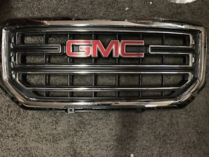 2015 gmc grill up to 2018