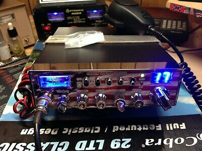 New Cobra 29 LTD Classic,Turbo Echo board,Peaked and tuned,Mod/swing kit