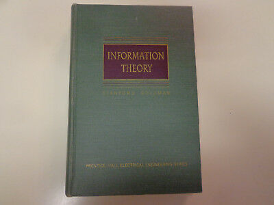 Information Theory by Stanford Goldman 1953 Physics Electrical Engineering