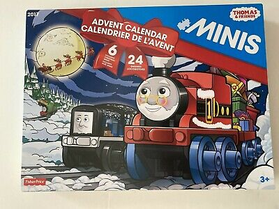 Fisher Price Thomas and Friends Minis 2017 Christmas Advent Calendar New