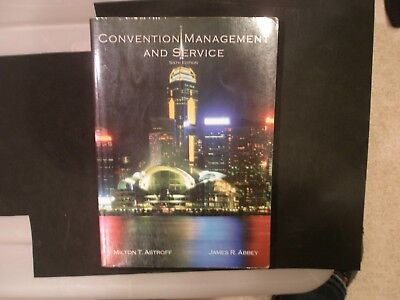 Convention Management And Service 6Th Ed  Hotel Hospitality Textbook
