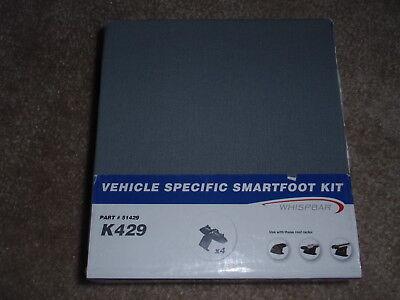 SQ5 2009-2016 Complete Whispbar S8 roof rack w// K666 Kit for Audi Q5