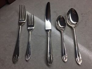 Royal Sheffield silver plate flatware