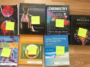 First year Trent kinesiology textbooks